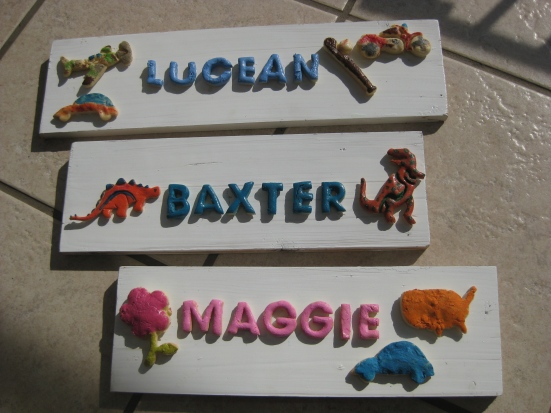 Name Plaques