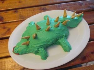 Stegosaurus Cake