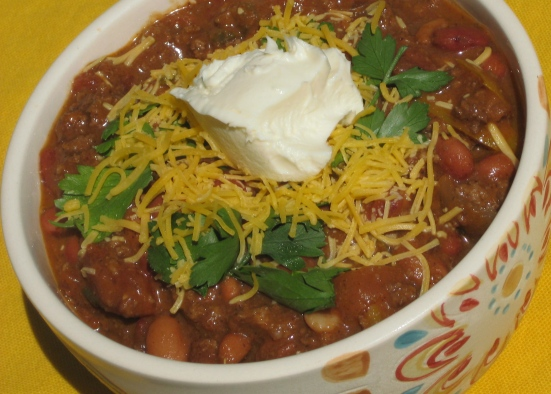 Heaping Bowl of Chili!